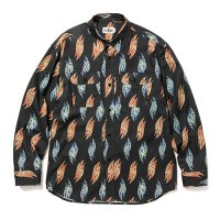 <img class='new_mark_img1' src='https://img.shop-pro.jp/img/new/icons5.gif' style='border:none;display:inline;margin:0px;padding:0px;width:auto;' />CALEE - Fallen leaves pattern L/S shirt