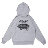 <img class='new_mark_img1' src='https://img.shop-pro.jp/img/new/icons49.gif' style='border:none;display:inline;margin:0px;padding:0px;width:auto;' />PORKCHOP - PORK BACK ZIP UP HOODIE