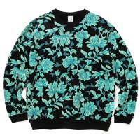 <img class='new_mark_img1' src='https://img.shop-pro.jp/img/new/icons5.gif' style='border:none;display:inline;margin:0px;padding:0px;width:auto;' />CALEE - Allover flower pattern crew neck sweat
