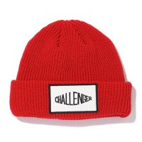 <img class='new_mark_img1' src='https://img.shop-pro.jp/img/new/icons49.gif' style='border:none;display:inline;margin:0px;padding:0px;width:auto;' />CHALLENGER - LOGO PATCH KNIT CAP