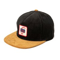<img class='new_mark_img1' src='https://img.shop-pro.jp/img/new/icons5.gif' style='border:none;display:inline;margin:0px;padding:0px;width:auto;' />CALEE - Corduroy two tone wappen cap