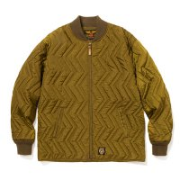 <img class='new_mark_img1' src='https://img.shop-pro.jp/img/new/icons5.gif' style='border:none;display:inline;margin:0px;padding:0px;width:auto;' />CALEE - Ripstop nylon quilting jacket