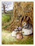 Wee Forest Folkオリジナルカード Home Sweet Bunny