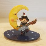 Broom to the Moon! wee forest folk
