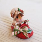 Snuggled in for Christmas  - Wee Forest Folk-