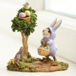 Poached Easter Eggs Wee Forest Folk