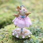 Petite Ballerina  Wee Forest Folk