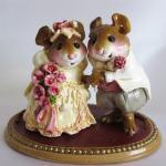 The Wedding Pair -Wee Forest Folk