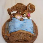 Mousey's Teddy  Wee Forest Folk