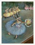 Wee Forest Folkオリジナルカード Degas Bunny