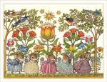 Wee Forest Folkオリジナルカード Mice with Flowers