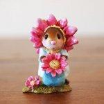 Little Miss Pink Petals Wee Forest Folk
