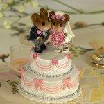 Wee Wedding Pair Wee Forest  Folk