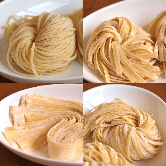パスタ 麺 種類