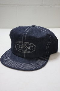 <img class='new_mark_img1' src='https://img.shop-pro.jp/img/new/icons14.gif' style='border:none;display:inline;margin:0px;padding:0px;width:auto;' />【THE H.W. DOG&CO.】ザエイチダブルドッグアンドコー TRUCKER CAP-D (Indigo)