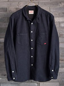 <img class='new_mark_img1' src='https://img.shop-pro.jp/img/new/icons14.gif' style='border:none;display:inline;margin:0px;padding:0px;width:auto;' />【GERUGA】ゲルガ ROUND COLLAR SHIRTS <MILITALY-FLANNEL> (NAVY)