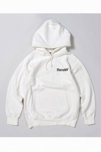 <img class='new_mark_img1' src='https://img.shop-pro.jp/img/new/icons14.gif' style='border:none;display:inline;margin:0px;padding:0px;width:auto;' />【RENDER】レンダー PULL OVER SWEAT HOODIE (OFF WHITE)