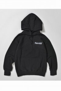 <img class='new_mark_img1' src='https://img.shop-pro.jp/img/new/icons50.gif' style='border:none;display:inline;margin:0px;padding:0px;width:auto;' />【RENDER】レンダー PULL OVER SWEAT HOODIE (BLACK)