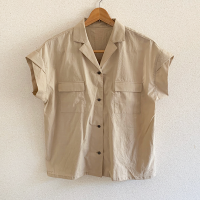 Ladiesオープンカラーシャツ