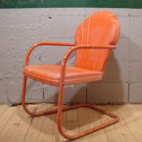 Vintage Steel Shell Chair
