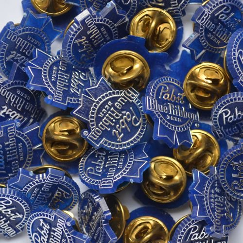80's Pabst(パブスト)Blue Ribbon Plastic Pins Deadstock