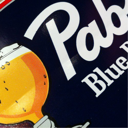 Pabst(パブスト)Blue Ribbon Sticker Oval Deadstock