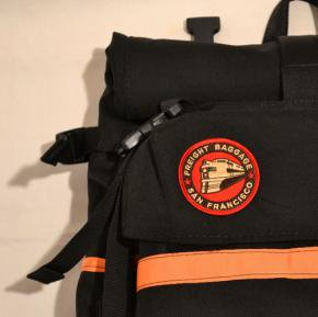 Freight Baggage(フレイトバゲージ) Rolltop Small Black