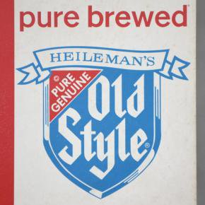 G. Heileman Brewing(ハイルマン) Old Style Open/Closed Sign