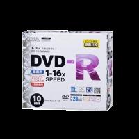 DVD−R録画用 16倍速(10枚)