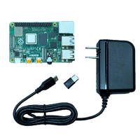 Raspberry Pi 4 Model B(4GB)& USB電源(USB-Cアダプタ付)