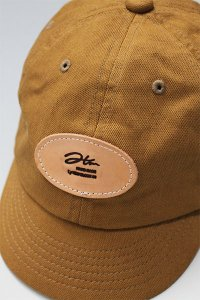 HANDMADE CANVAS CAP 【CAMEL】
