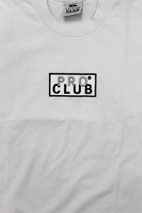 PROCLUB LIMITED HEAVY WEIGHT S/S TEE BOX LOGO 【WHT】