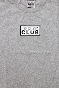 PROCLUB LIMITED HEAVY WEIGHT L/S TEE BOX LOGO 【GRY】