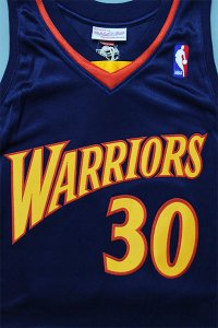 <img class='new_mark_img1' src='https://img.shop-pro.jp/img/new/icons16.gif' style='border:none;display:inline;margin:0px;padding:0px;width:auto;' />MITCHELL&NESS AUTHENTIC JERSEY WARRIORS CURRY 【NVY/YEL】