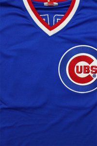 <img class='new_mark_img1' src='https://img.shop-pro.jp/img/new/icons16.gif' style='border:none;display:inline;margin:0px;padding:0px;width:auto;' />MITCHELL&NESS AUTHENTIC BASEBALL JERSEY CUBS SANDBERS 【BLU/RED】