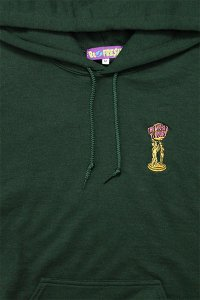 RE-FRESH 1P PULL HOODIE THE WORLD IS YOURS 【D.GRN】