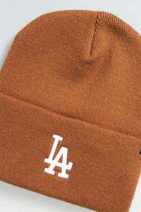 <img class='new_mark_img1' src='https://img.shop-pro.jp/img/new/icons16.gif' style='border:none;display:inline;margin:0px;padding:0px;width:auto;' />Carhartt×47 BRAND KNIT CAP DODGERS【BRN】