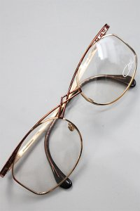 <img class='new_mark_img1' src='https://img.shop-pro.jp/img/new/icons16.gif' style='border:none;display:inline;margin:0px;padding:0px;width:auto;' />VINTAGE CAZAL CLEAR SUNGLASS 266【GLD】