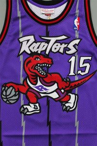 <img class='new_mark_img1' src='https://img.shop-pro.jp/img/new/icons16.gif' style='border:none;display:inline;margin:0px;padding:0px;width:auto;' />MITCHELL&NESS AUTHENTIC JERSEY RAPTORS VINCE CARTER【PUR/RED】