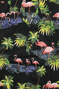 <img class='new_mark_img1' src='https://img.shop-pro.jp/img/new/icons16.gif' style='border:none;display:inline;margin:0px;padding:0px;width:auto;' />PACIFIC LEGEND S/S ALOHA SHIRTS FLAMINGO 3【BLK】