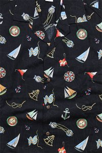 <img class='new_mark_img1' src='https://img.shop-pro.jp/img/new/icons16.gif' style='border:none;display:inline;margin:0px;padding:0px;width:auto;' />PACIFIC LEGEND S/S ALOHA SHIRTS ANCHOR【BLK】