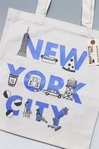 <img class='new_mark_img1' src='https://img.shop-pro.jp/img/new/icons16.gif' style='border:none;display:inline;margin:0px;padding:0px;width:auto;' />MAPTOTE NEW YORK CITY TOTE BAG【NAT/P.BLU】