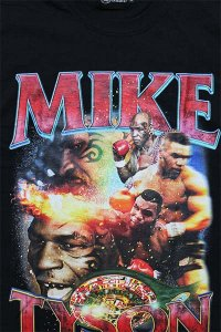 THE FINEST MIKE TYSON S/S TEE 03【BLK】