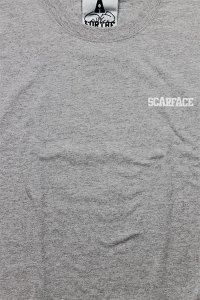 <img class='new_mark_img1' src='https://img.shop-pro.jp/img/new/icons16.gif' style='border:none;display:inline;margin:0px;padding:0px;width:auto;' />FOR THE HOMIES L/S TEE SCARFACE【GRY】