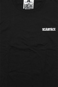 <img class='new_mark_img1' src='https://img.shop-pro.jp/img/new/icons16.gif' style='border:none;display:inline;margin:0px;padding:0px;width:auto;' />FOR THE HOMIES L/S TEE SCARFACE【BLK】