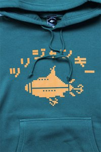 <img class='new_mark_img1' src='https://img.shop-pro.jp/img/new/icons16.gif' style='border:none;display:inline;margin:0px;padding:0px;width:auto;' />ツリジャンキー BITMAP HOODIE 【D.GRN/YEL】