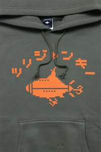 <img class='new_mark_img1' src='https://img.shop-pro.jp/img/new/icons16.gif' style='border:none;display:inline;margin:0px;padding:0px;width:auto;' />ツリジャンキー BITMAP HOODIE 【OLV/ORG】