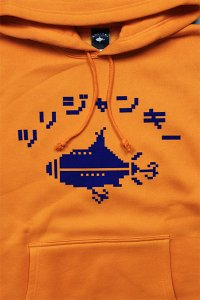 <img class='new_mark_img1' src='https://img.shop-pro.jp/img/new/icons16.gif' style='border:none;display:inline;margin:0px;padding:0px;width:auto;' />ツリジャンキー BITMAP HOODIE 【ORG/BLU】