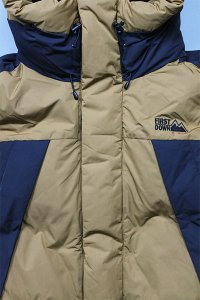 <img class='new_mark_img1' src='https://img.shop-pro.jp/img/new/icons16.gif' style='border:none;display:inline;margin:0px;padding:0px;width:auto;' />FIRST DOWN MOUNTAIN DOWN JACKET 【BRN/BLK】