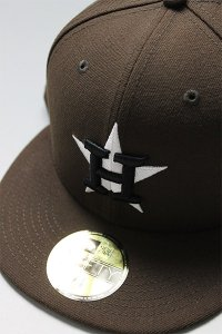 NEWERA 59fifty HOUSTON ASTROS 50th ANNIVERSARY【BRN/PINK】